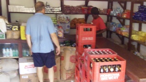 David @ a Liberian Convenience Store